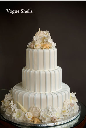 Beach Wedding Cakes CAN be Elegant with Style