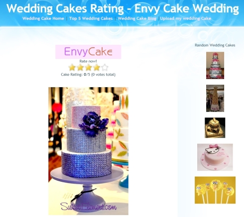 Rank and Review Wedding Cakes