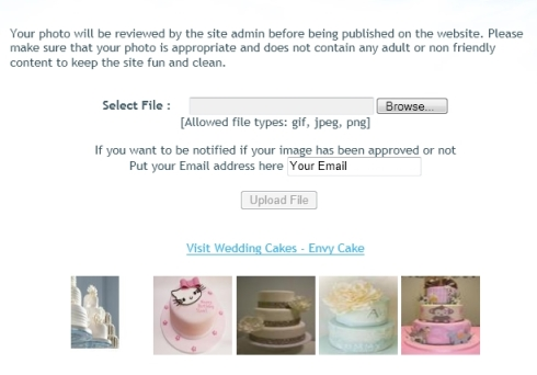 Wedding Cakes Sharing