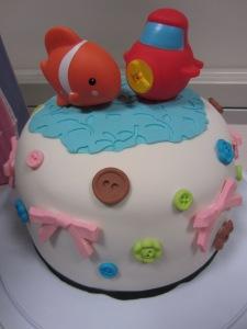 Baby Shower Cake close up Toronto GTA Envy Cake