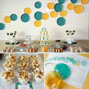 Toronto GTA BABY SHOWER party idea pop corn