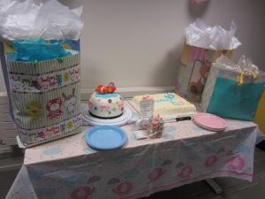 Toronto GTA Cakes Baby Shower Table Envy Cake